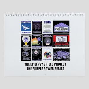 Purple Power Series Wall Calendar