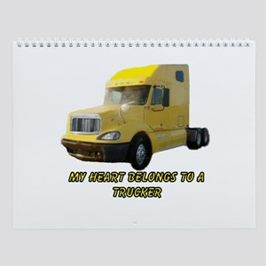 Yellow Truck Wall Calendar