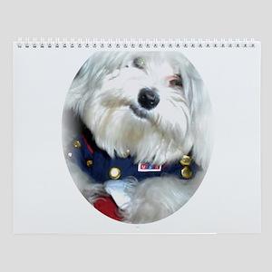 Patriotic Puppy Wall Calendar