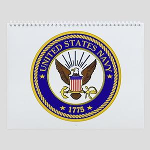 USS Enterprise CV-6 Wall Calendar