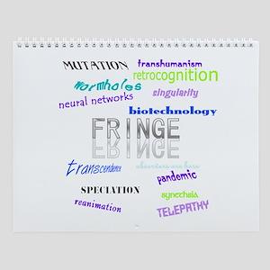 Fringe 12 month Wall Calendar