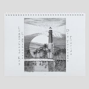 Loggerhead Key Lighthouse Wall Calendar