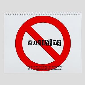 No-Bullying3 Wall Calendar