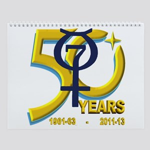 Mercury's 50th Anniversary! Wall Calendar