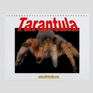 12 month tarantula Wall Calendar