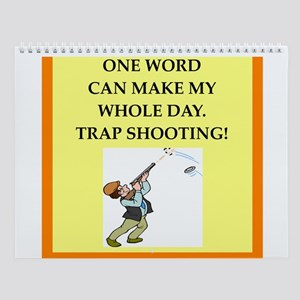 Trap Shooting Wall Calendar