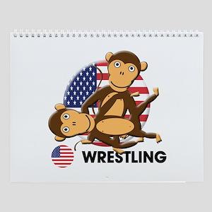 wrestling Wall Calendar