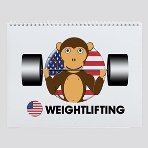 weightlifting Wall Calendar