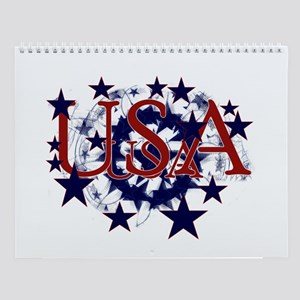 Patriotic USA Prints 2007 Wall Calendar
