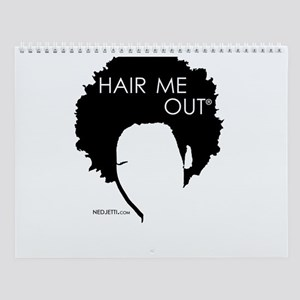 Nedjetti's Hair Me Out Hairstyles Wall Calendar
