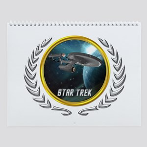Star Trek Federation Of Planets Wall Calendar