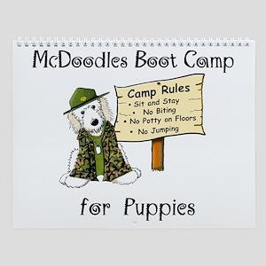 Mcdoodles Boot Camp Wall Calendar