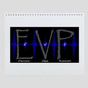 EVP electronic voice phenomen Wall Calendar