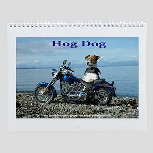Jack Russell Terrier Wall Calendar. The Hog Dog
