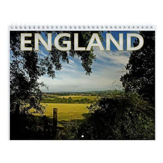 England Photo Calendar