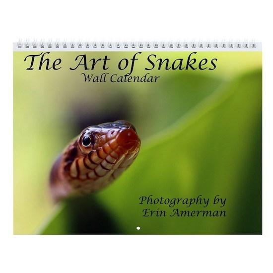 The Art of Snakes Calendar Cover