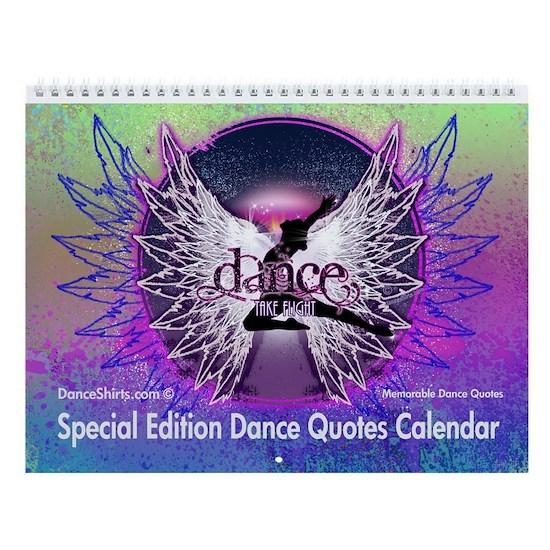 Dance Quotes Calendar