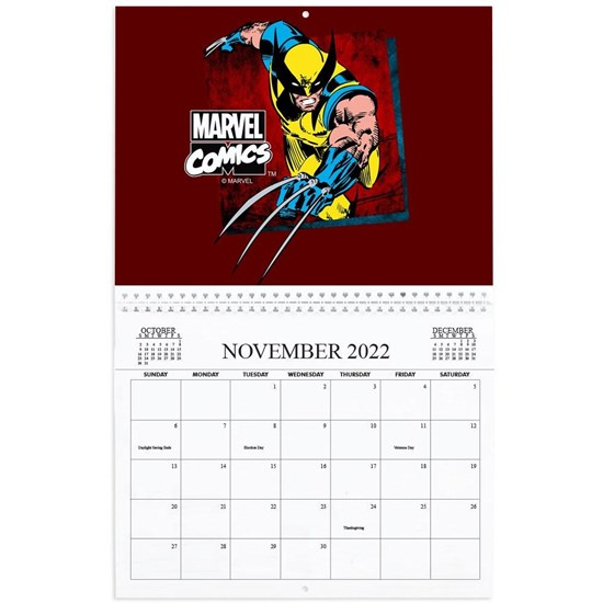Marvel Comics Calendar