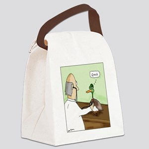 QuackColor Canvas Lunch Bag