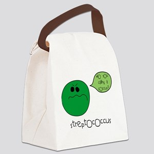 3-coccus Canvas Lunch Bag