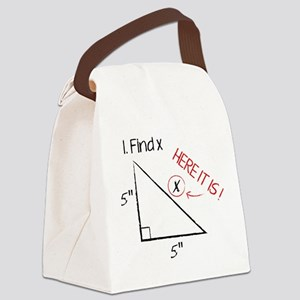 Find X Canvas Lunch Bag