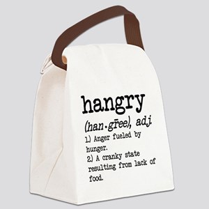 Hangry: Defined Canvas Lunch Bag