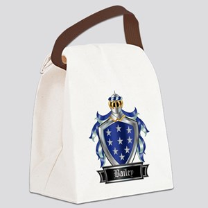 BAILEY COAT OF ARMS Canvas Lunch Bag