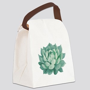01f2750a57b3 Succulent Canvas Lunch Bags - CafePress