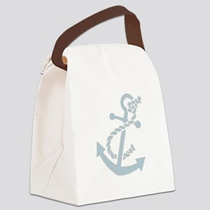 nauticaltransparent Canvas Lunch Bag