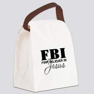 FBI_4Light Canvas Lunch Bag