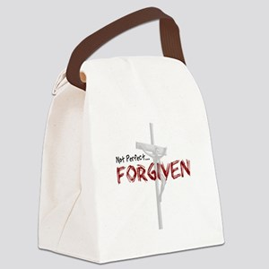NotPerfect-Forgiven_4Light Canvas Lunch Bag