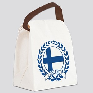 finlandwreath Canvas Lunch Bag
