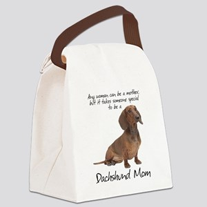 29349c577306 Dachshund Canvas Lunch Bags - CafePress