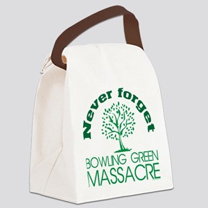 Never Forget Bowling Green Massac Canvas Lunch Bag