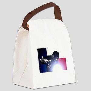 Welding: Texas State Flag & Welde Canvas Lunch Bag