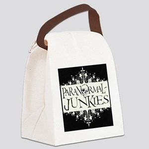 Paranormal-Junkies Logo Canvas Lunch Bag