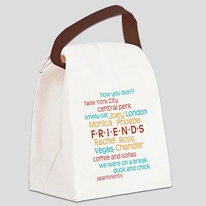 Friends TV Show Canvas Lunch Bag