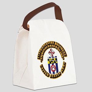 COA - 175th Infantry Regiment Canvas Lunch Bag