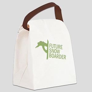 Future Snowboader Canvas Lunch Bag