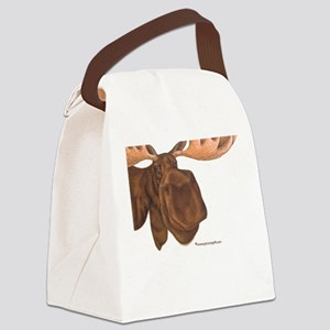 moose Canvas Lunch Bag