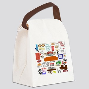 Friends TV Show Collage Canvas Lunch Bag