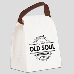 Birthday Born 1980 Limited Editio Canvas Lunch Bag