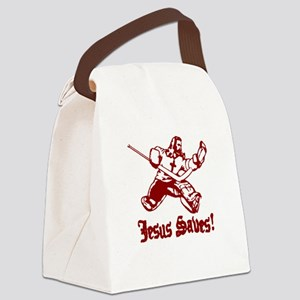 Jeses Saves Goal Canvas Lunch Bag