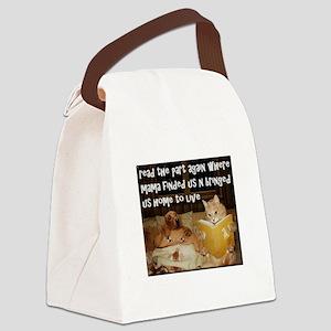 Adopt A Pet Canvas Lunch Bag