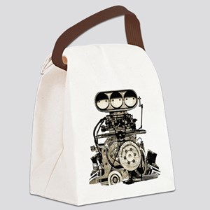 blower11 Canvas Lunch Bag