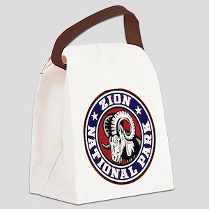 Zion Ram Circle Canvas Lunch Bag