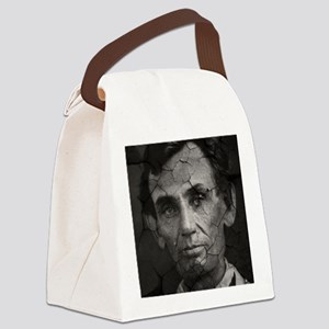 Abe, Distressed, Canvas Lunch Bag