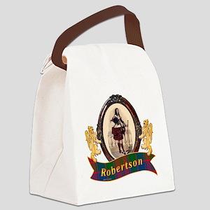 Robertson Clan Canvas Lunch Bag