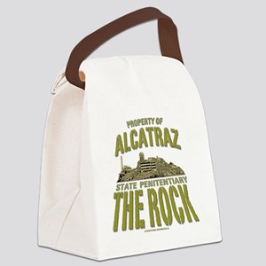 ALCATRAZ_THE ROCK_5x4_pocket Canvas Lunch Bag