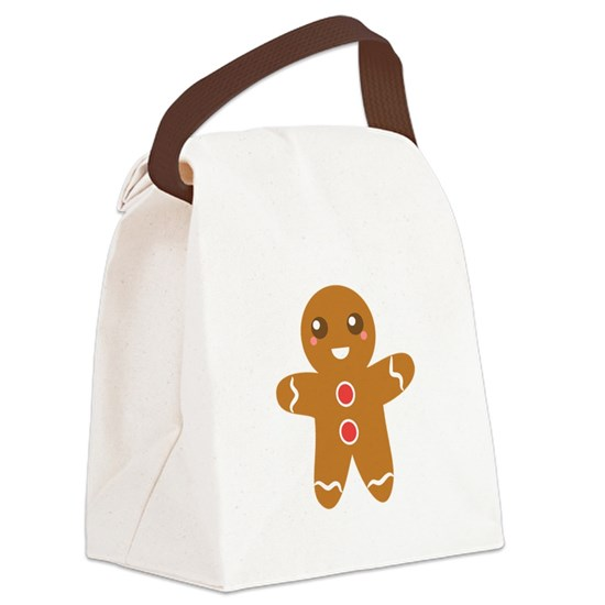 Cute and Happy Christmas Gingerbread Man
